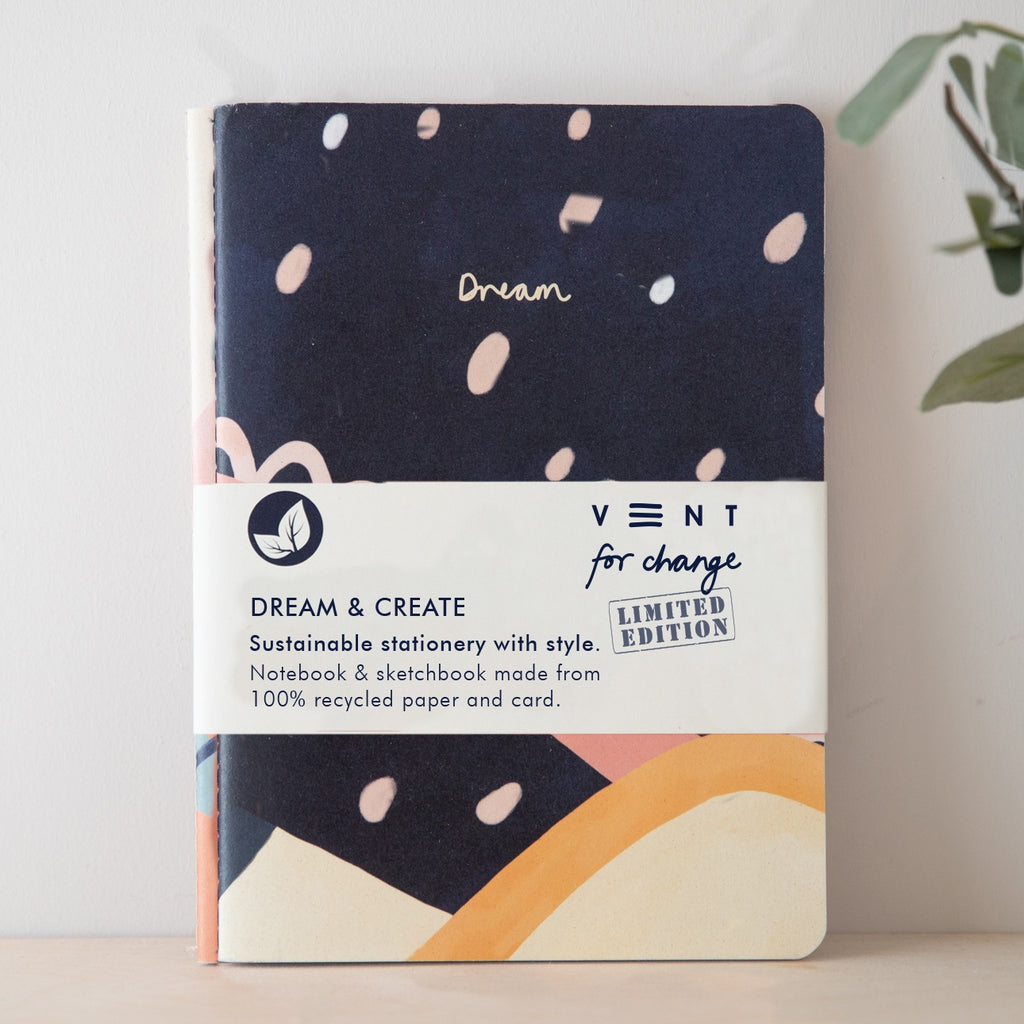 A5 Dream and Create Notebook and Sketchbook Set