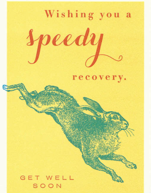 Wishing You a Speedy Recovery Card