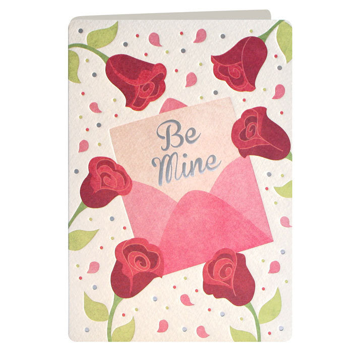 Be Mine Valentine's Card
