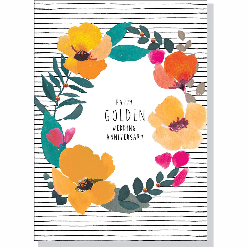 Anniversary Card - Golden Wedding