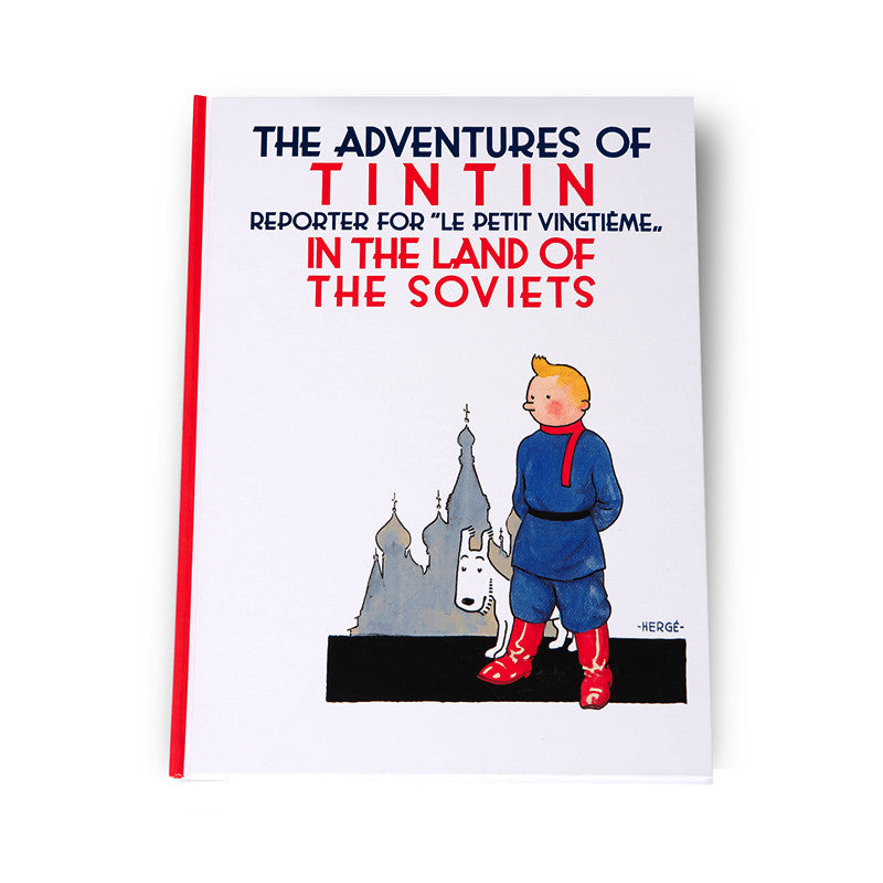Tintin in the Land of the Soviets Soft Back Book
