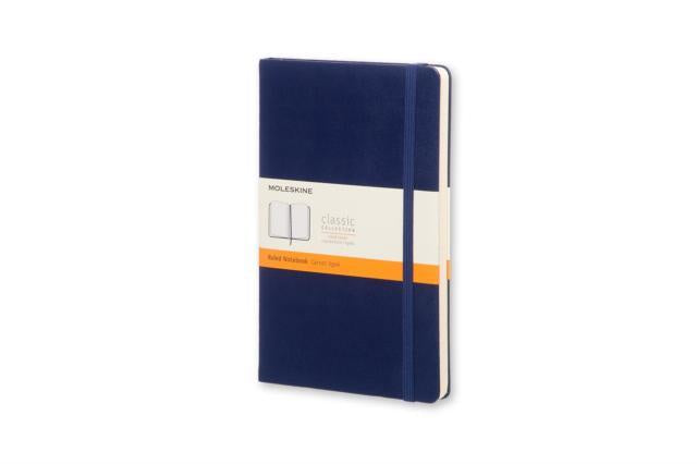 Moleskine Pocket Ruled Notebook Prussian Blue