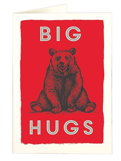 Big Hugs Small Card