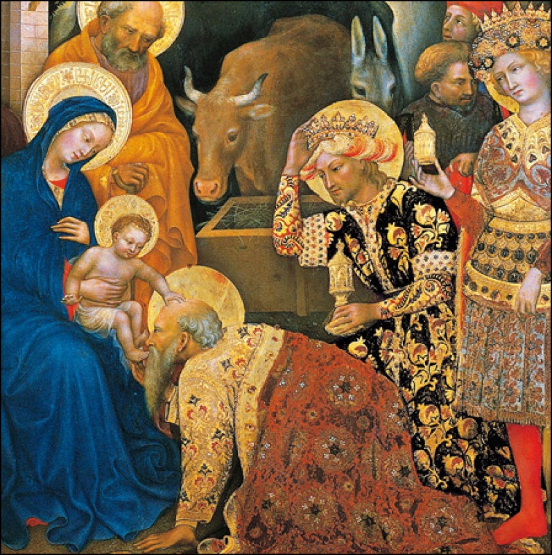 Adoration of the Magi, 1423 Charity Pack of 5 Cards