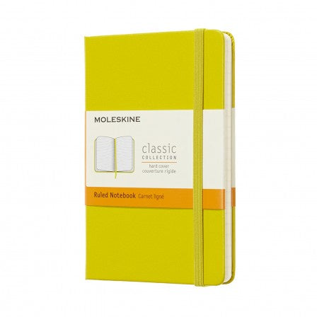 Moleskine Pocket Hardback Ruled Notebook Dandelion Yellow