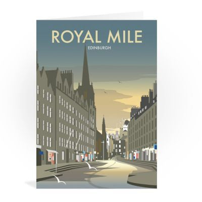 Royal Mile Edinburgh Card
