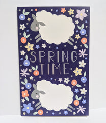 Spring Time Sheep Pack of 6 Cards