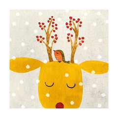 Festive Antlers Christmas Fayre Pack of Cards