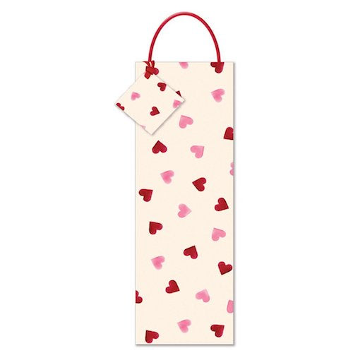 Emma Bridgewater Hearts Bottle Gift Bag