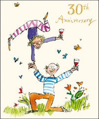 30th Anniversary Quentin Blake Card