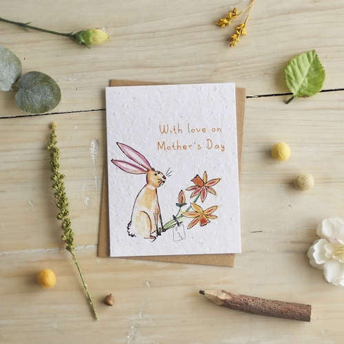 With Love On Mother's Day Seed Card