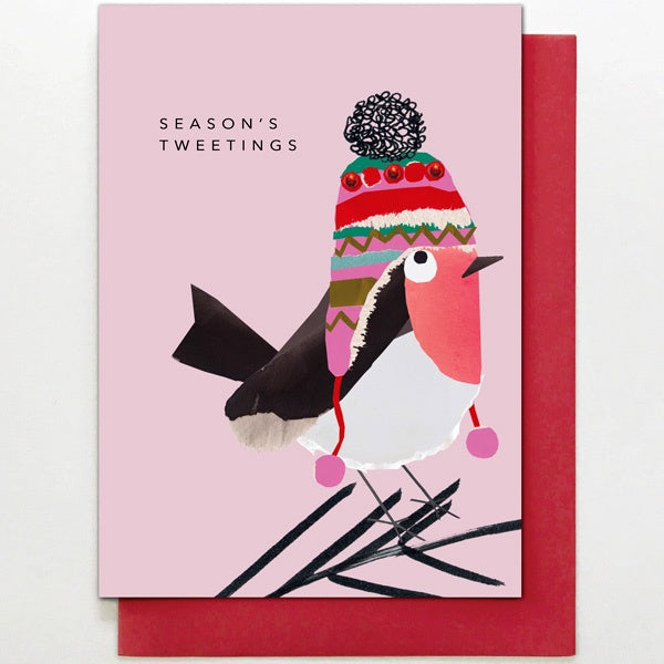 Season's Tweetings Robin Card