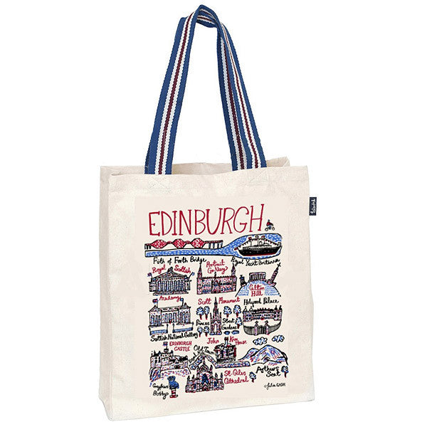 Edinburgh Cityscape Tote Bag