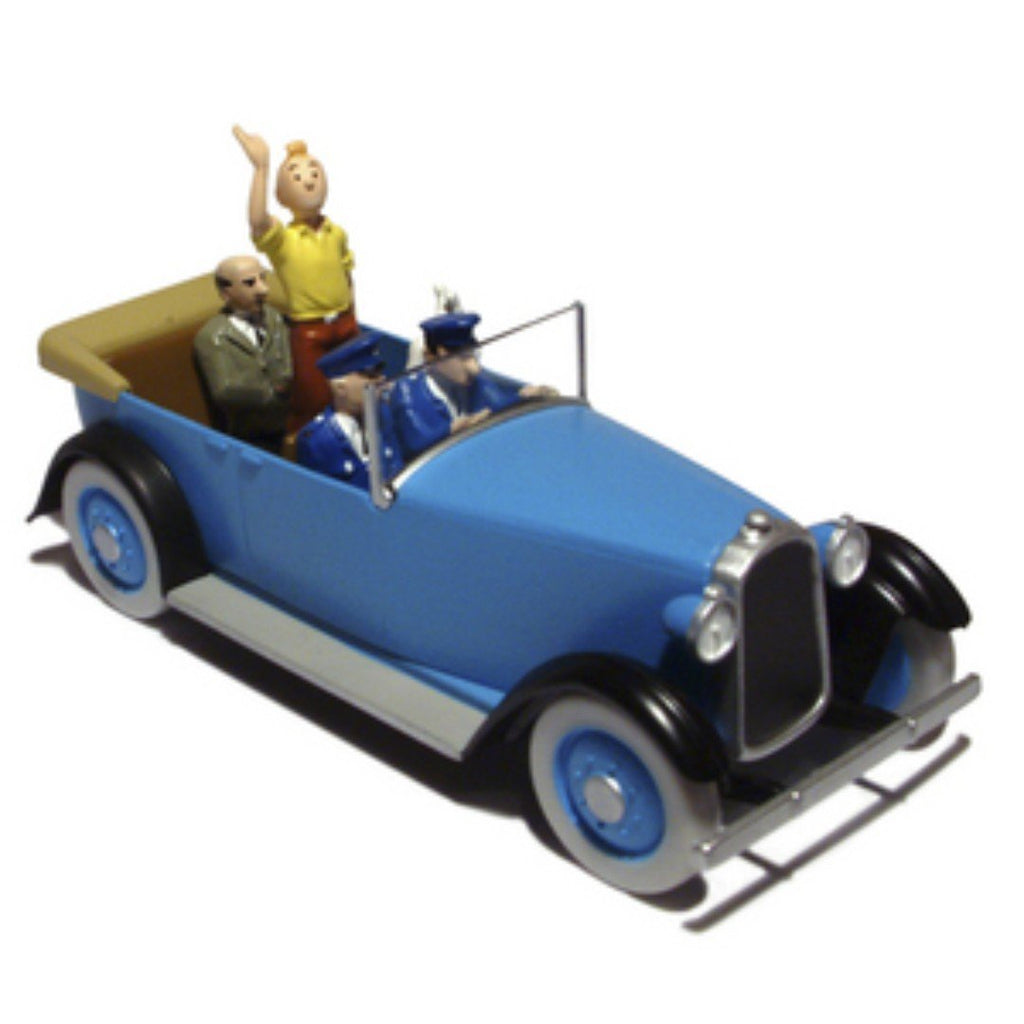 Tintin Die Cast Car Parade Car