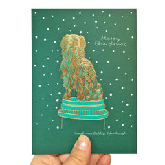 Christmas Greyfriars Bobby Card