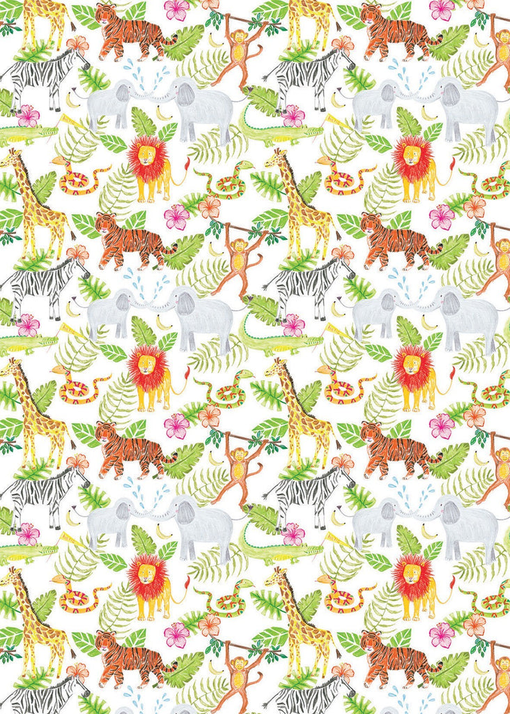 Jungle Time Gift Wrap DISC