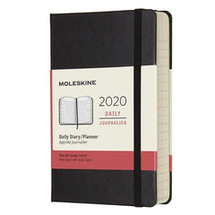 Moleskine 2020 Daily Pocket Diary Black Hard Cover