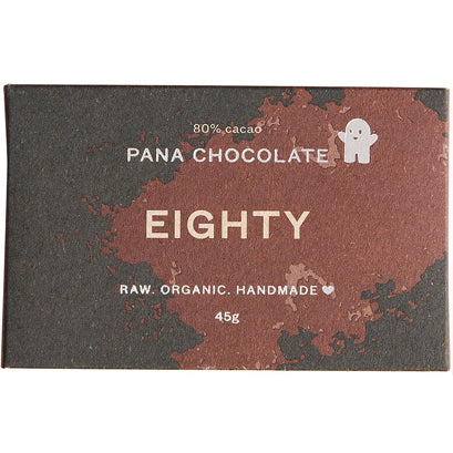 Eighty % Cacao Chocolate Bar