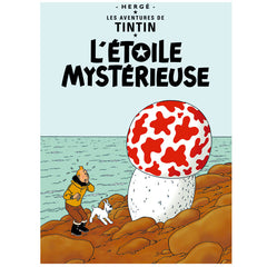 The Shooting Star Tintin Poster