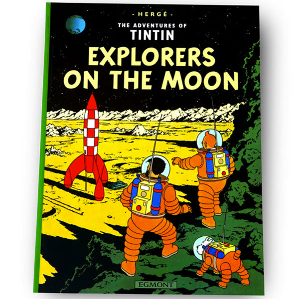 Explorers On The Moon Softback Book