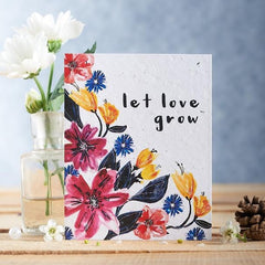 Let Love Grow Seed Card