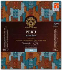 Bean to Bar Milk Chocolate Peru Maranon 60%