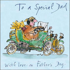 Quentin Blake Car Father's Day Card