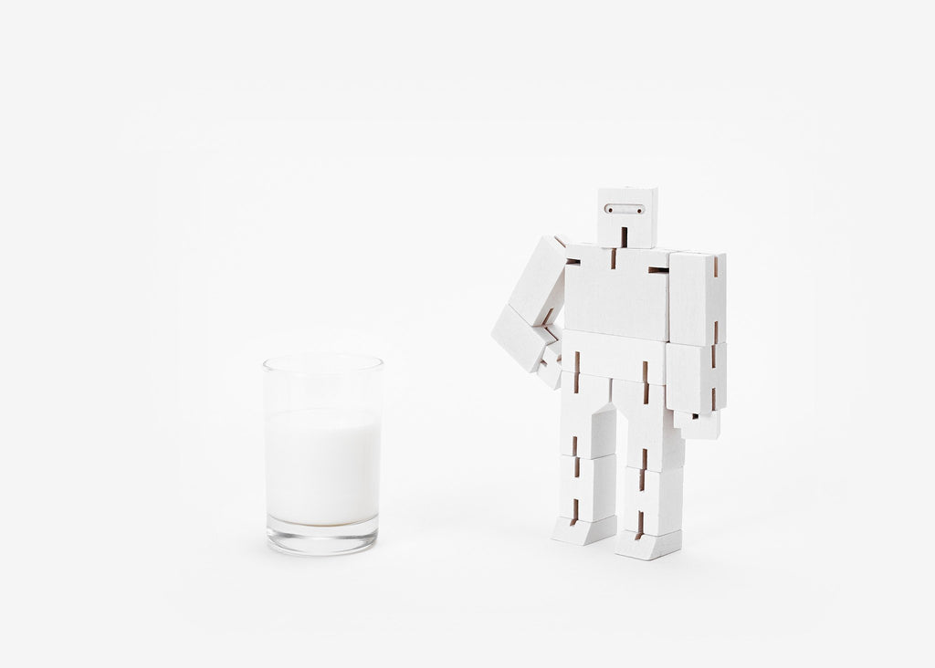 Cubebot Small White