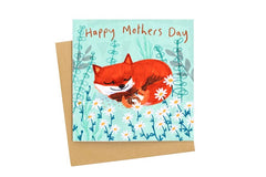Happy Mother's Day Fox Card