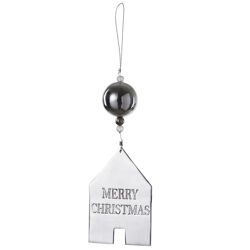 Merry Christmas Mirror Ornament