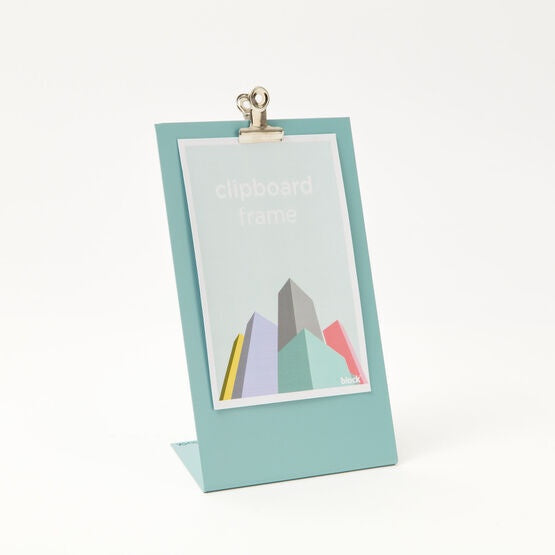 Clipboard Frame Medium Light Blue