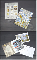 Angie Lewin Postcard Book Pack of 10
