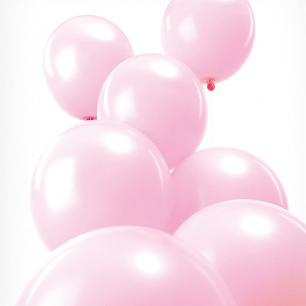 Pink Balloons Pack of 12