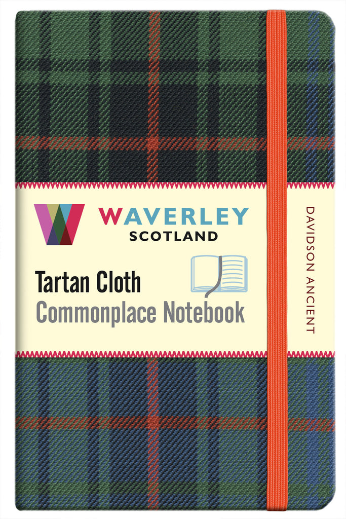 Tartan Cloth Notebook- Davidson Ancient
