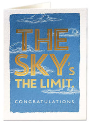 Congratulations The Sky's The Limit