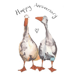 Wendy and Grace Happy Anniversary Card by Catherine Rayner