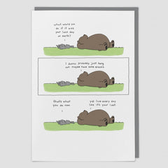 Hang Out Card by Liz Climo