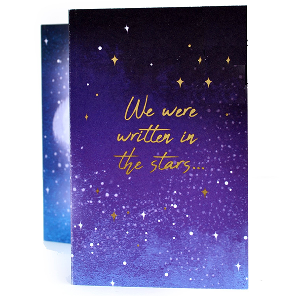 Written In The Stars Expanding Card