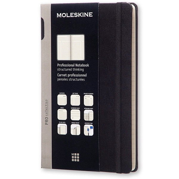 Moleskine Professional Notebook Extra Large Black