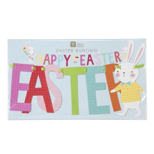 Hop To It Happy Easter Bunting