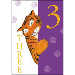 The Tiger who Came to Tea 3rd Birthday Card