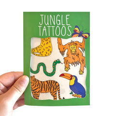 Jungle Transfer Tattoos