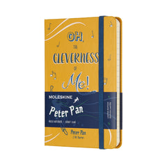 Limited Edition Peter Pan Pocket Ruled Moleskine Notebook Yellow