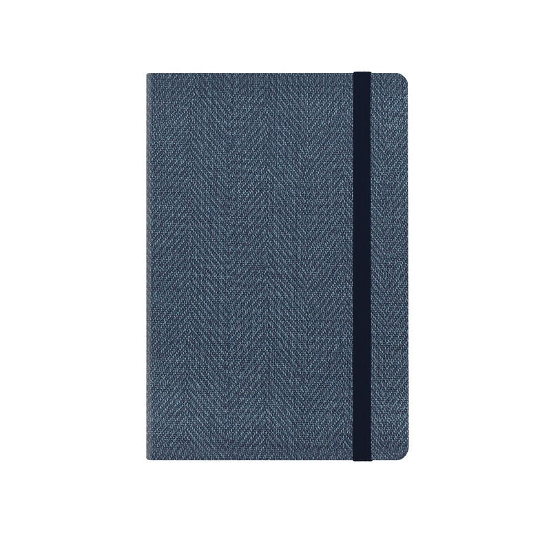 Medium Weekly Diary 2020/ 2021 Blue Tweed