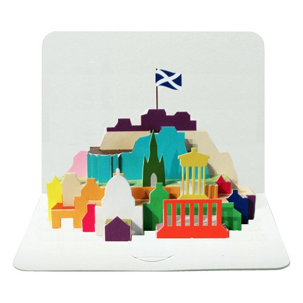 Edinburgh Pop Up City Card