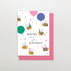 Buzzing About Your Birthday Card