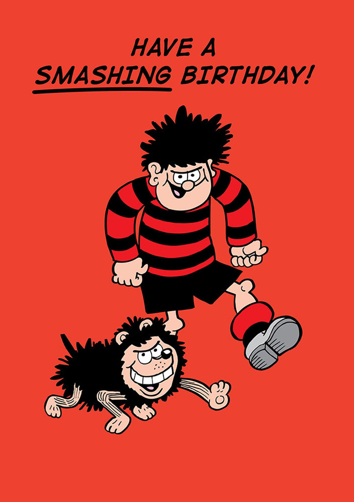 Have a Smashing Birthday Dennis the Menace Card