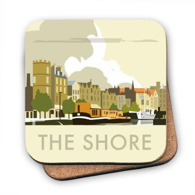 The Shore at Leith Coaster