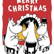 Moomin Fireside Christmas Card