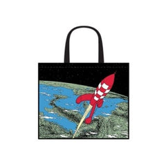 Tintin Rocket Shopper Bag